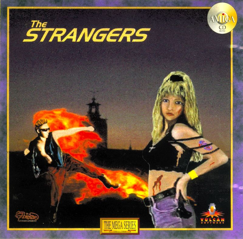 99934 the strangers amiga front cover - BOX ART X: SUBTITLE NOT REQUIRED
