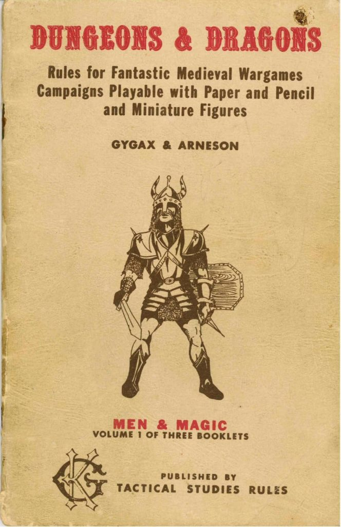 DD vol.1 001 664x1024 - Tabletop Tower: Original Dungeons & Dragons (Tactical Studies Rules, 1974) Part 1