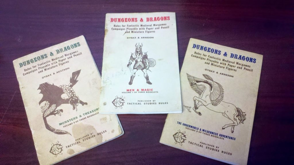 lbb 1024x575 - Tabletop Tower: Original Dungeons & Dragons (Tactical Studies Rules, 1974) Part 1