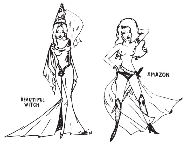 witch amazon - Tabletop Tower: Original Dungeons & Dragons (Tactical Studies Rules, 1974) Part 1