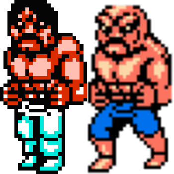 abobo hair - RETRO GAMING ROGUES' GALLERY Part 2