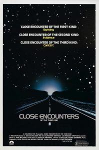 1. Close encounters of the Third Kind Poster 198x300 - 1. Close encounters of the Third Kind Poster