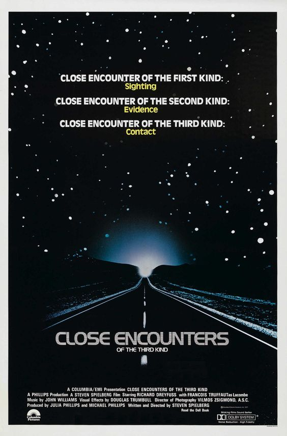1. Close encounters of the Third Kind Poster - Memory Lanes #1 – Morgan Willis