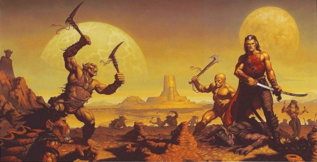 brom dark sun 1024x522 - Old School Dungeons & Dragons Artwork Gallery