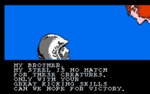 kicking skills 300x189 - Game Reviews May 2020: NES Platformers