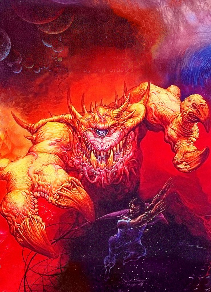 manual of the planes cover art jeff easley 739x1024 - Old School Dungeons & Dragons Artwork Gallery