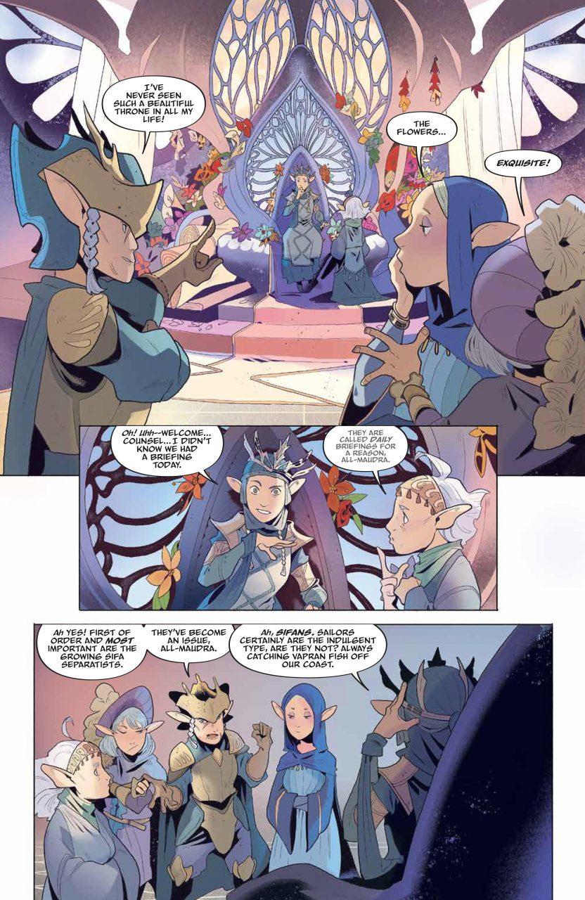 DarkCrystal AgeResistance 009 PRESS 8 - Dark Crystal: Age of Resistance #9 Comic Review