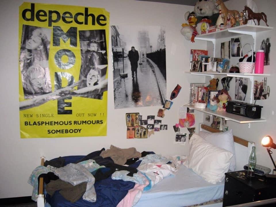 Depeche Mode 80s Teen Bedroom