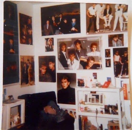 Duran Duran - 80s Teen Bedrooms