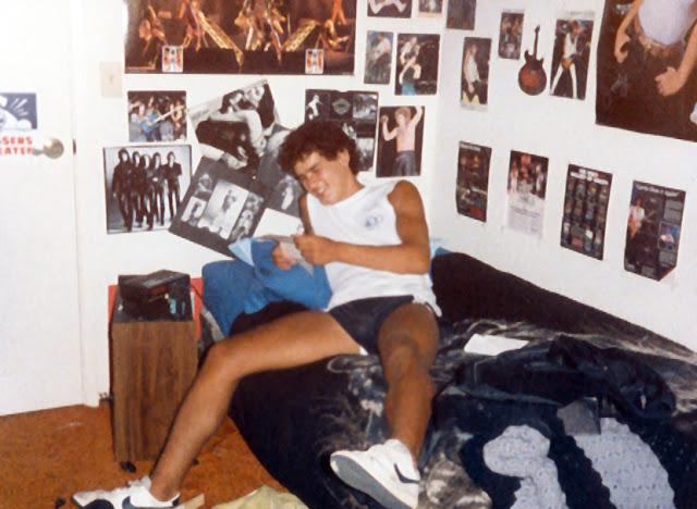 80s Teenagers in Their Rooms 18 - Retro GOLD - 80s Teen Bedrooms