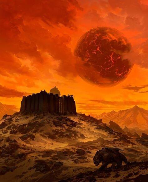 athas desert - Worlds of TSR: Dark Sun