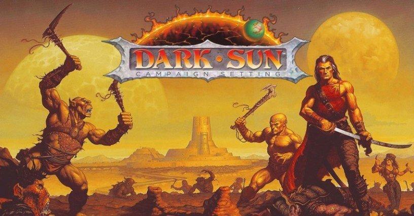 dark sun cover - Worlds of TSR: Dark Sun