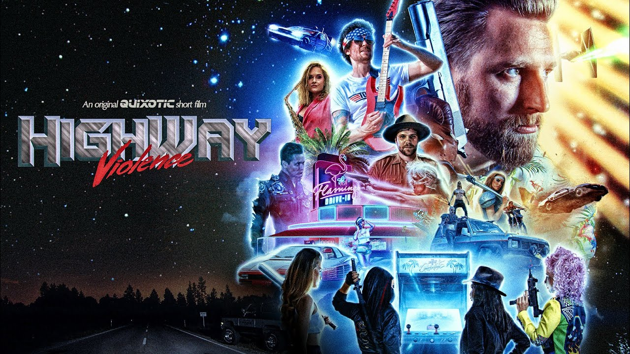 maxresdefault - Quixotic's Highway Violence short : an all-star homage to retro movies
