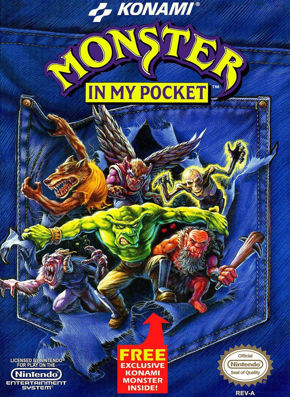 monster in my pocket - Box Art XI: Wrath of Neon Gandalf
