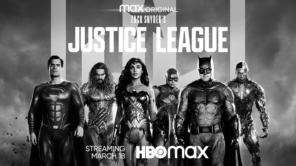 ZSJL Banner - A short·hand review of the 4 hour Snyder Cut of Justice League