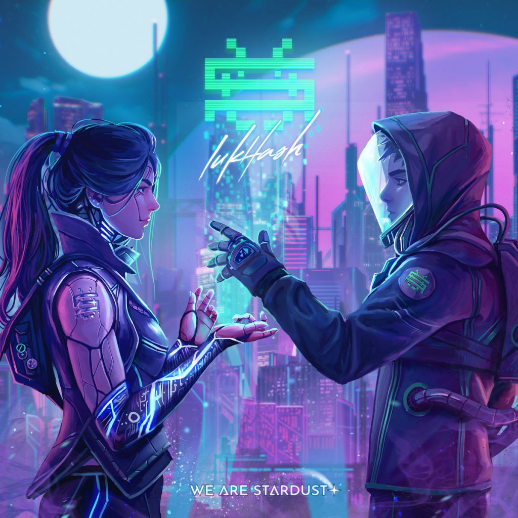 LukHash We Are Stardust Synthwave Chiptune Darksynth 1024x1024 - LukHash - We Are Stardust