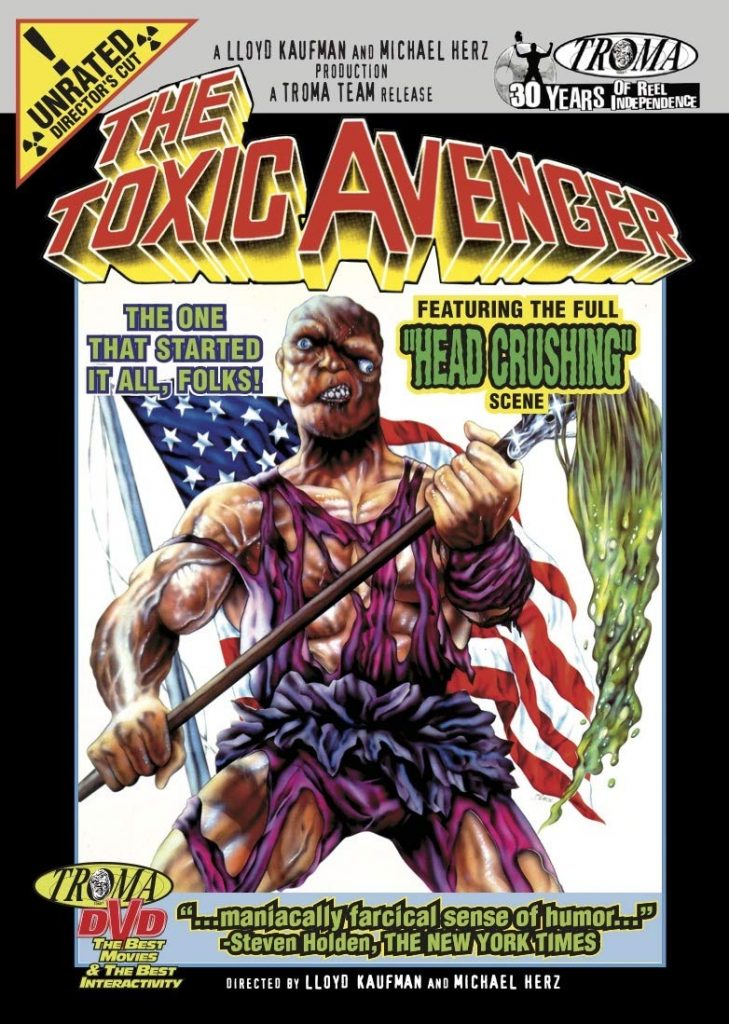 Toxic Avenger Original Full Movie 729x1024 - TOXIE IS BACK!! Everything We Know So Far About the Toxic Avenger Reboot