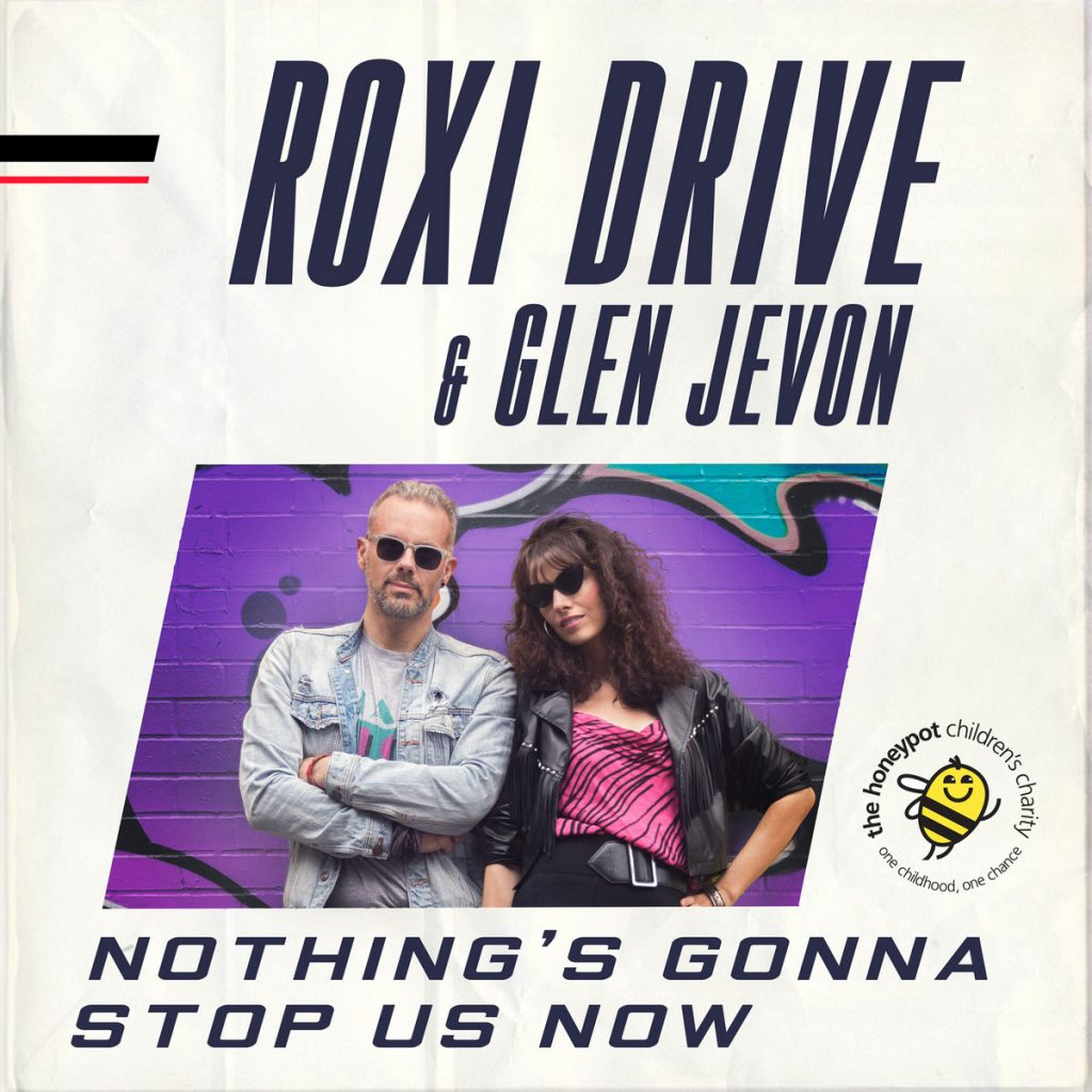 a4179174575 10 1024x1024 - Roxi Drive covers Starship 'Nothing's Gonna Stop Us Now' for Charity