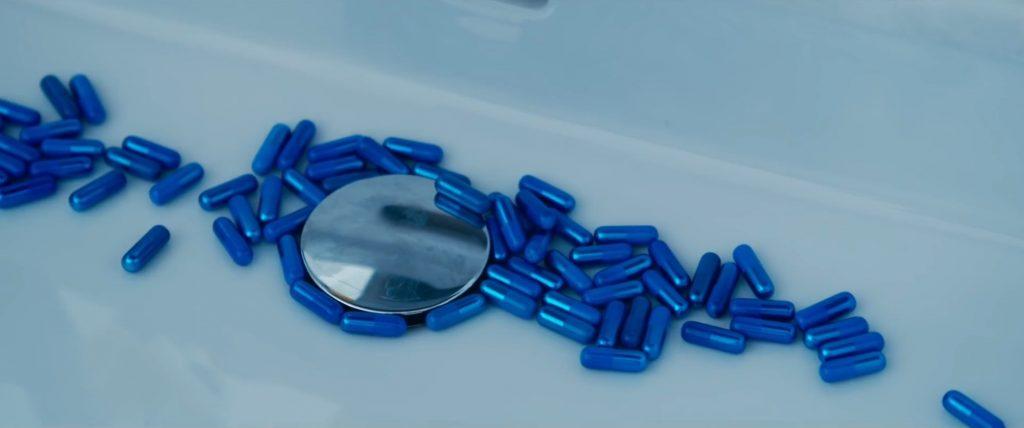 Matrix Blue Pill 1024x428 - The New Matrix Trailer Just Dropped, and it's WILD